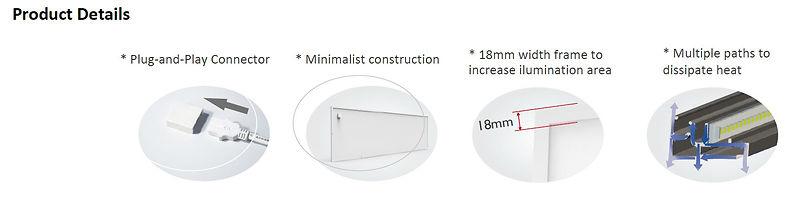 blightsolution - panel led basic series