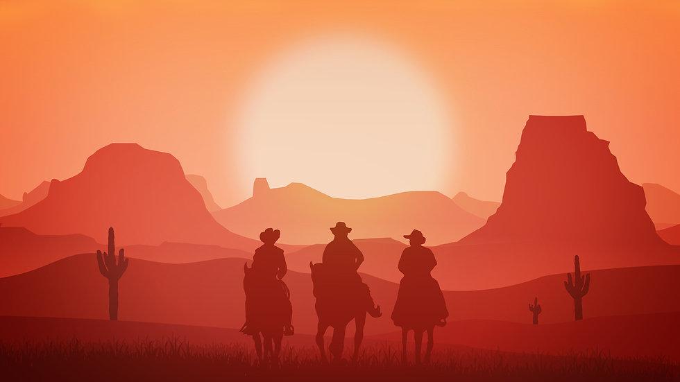 western-cowboys-landscape-men-horse-hors