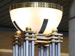 custom metal light fixture