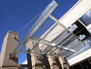 architectural metal awning