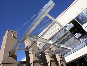 architectural metal awning