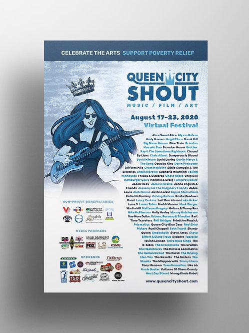 QCS 2020 Poster (11in x 17in)