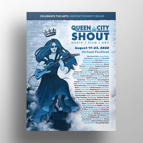 QCS 2020 Collectible Poster (18in x 24in)