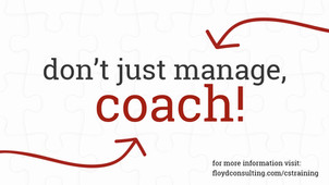 The Culture Solution Training - The Future of Leading People Is Coaching