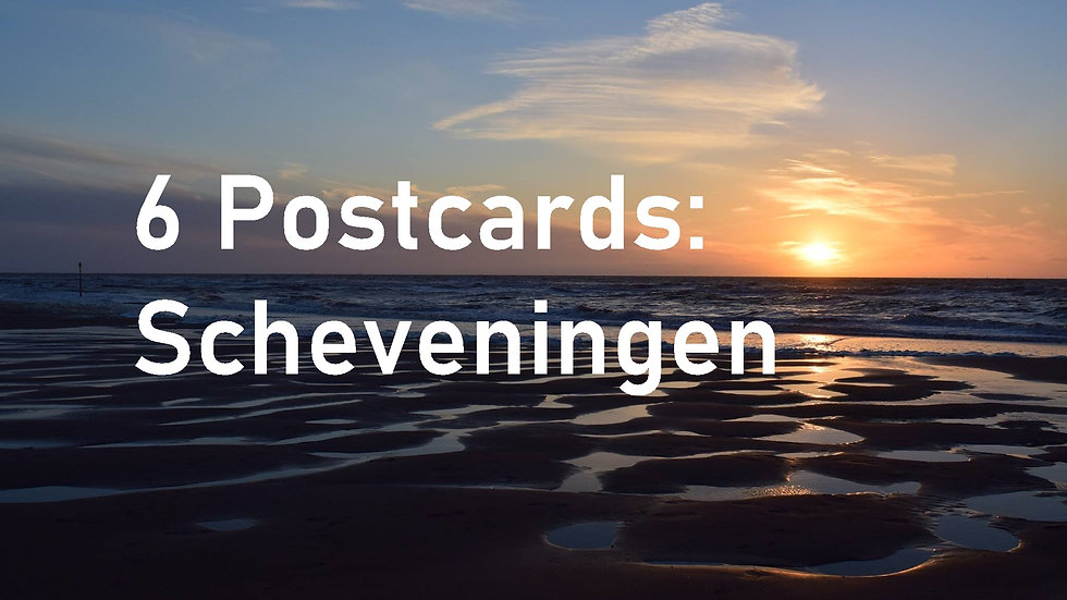 Set of 6 postcards: Scheveningen, The Hague