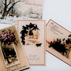 Christmas & New Years postcards