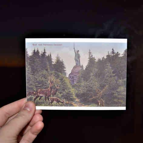 Hermann postcard