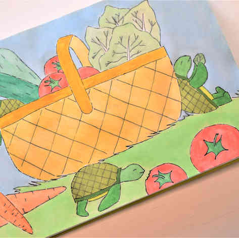 Turtles on a Picnic