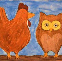 Feathery Friends