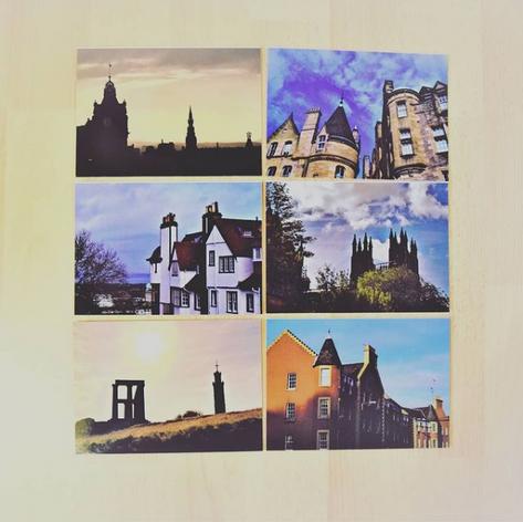 Postcards of Edinburgh