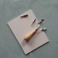 Linocut supplies
