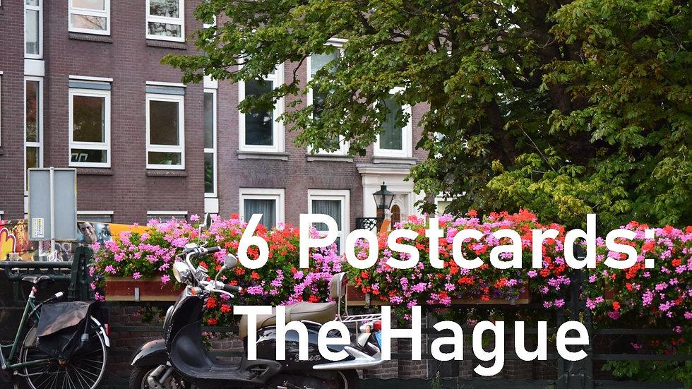 Set of 6 postcards: The Hague