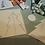 "Thumbnail: Linocut greeting card: ""Sunlight Through the Trees"""