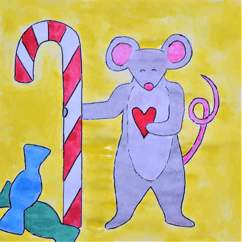 """Illustrated card 