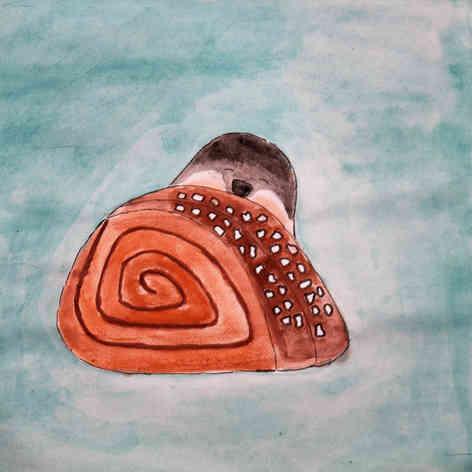 Cinnamon bun & Lemming