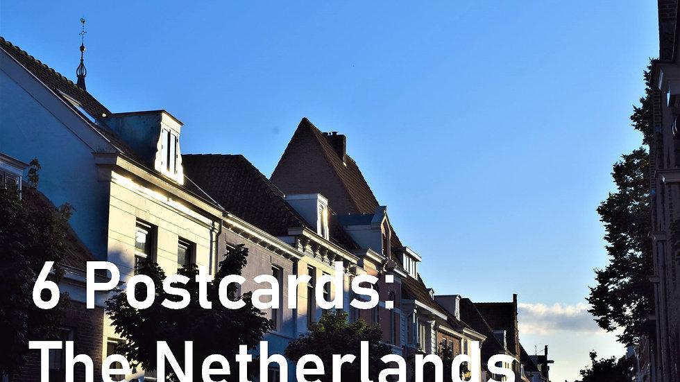 Set of 6 postcards: The Netherlands