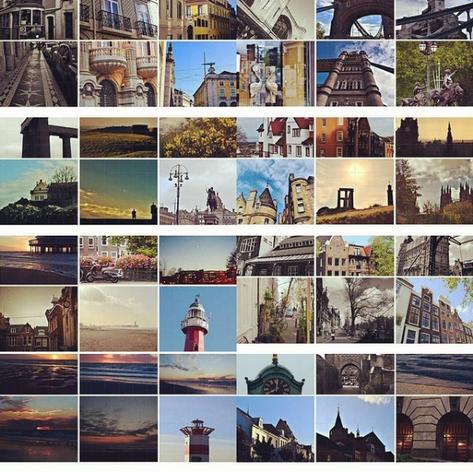 Postcards featuring original photography