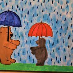 Hug in the Rain