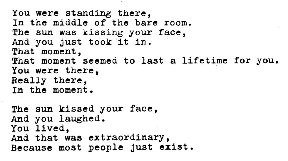 """Poetry-by-Post, Postcard No. 2: """"You and That Laugh"""""""