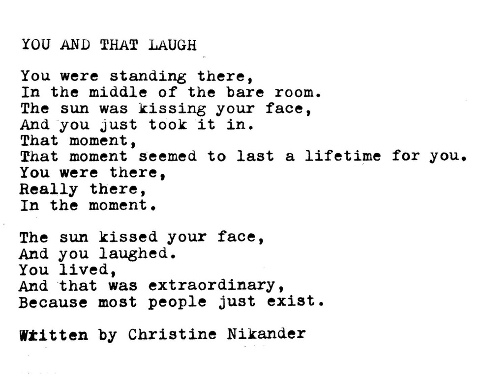You and That Laugh
