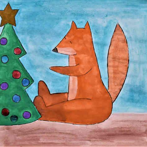 Fox & Tree