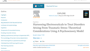 Harnessing Electroceuticals Article by Dr. Ronald Ruden