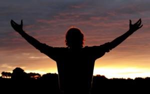 Louvando a Deus de coração