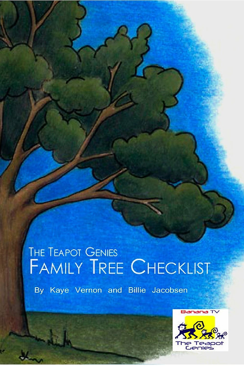 Family Tree Checklist Booklet - 6th Edition