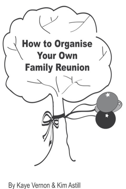 How to Organise Your Own Family Reunion Booklet