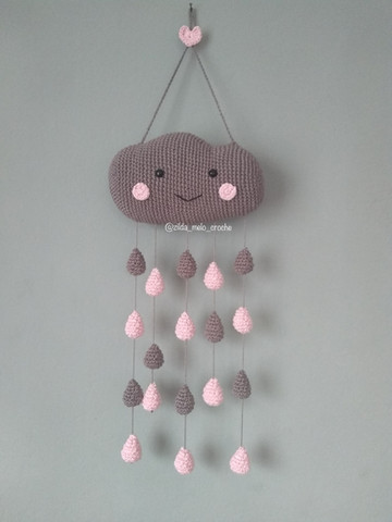 Tita Carré Agulha e Tricot : Almofada Nuvem em Crochet | 480x360