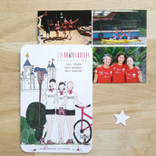 Carte postale souvenir