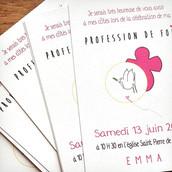 Invitation Profession de Foi