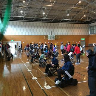 第一回鳥取県ボッチャ大会