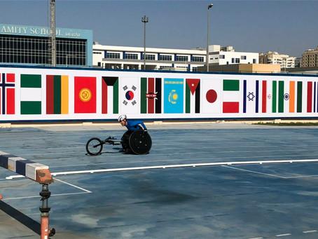ドバイで開催されたWorld Para Athletics Grand Prixに出場しました!