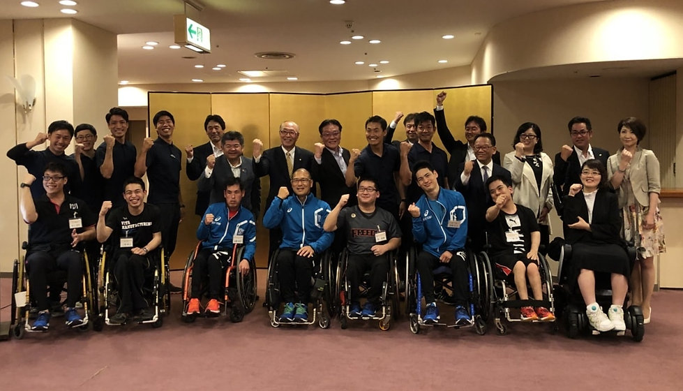 CHAX障がい者アスリートチーム後援会決起集会