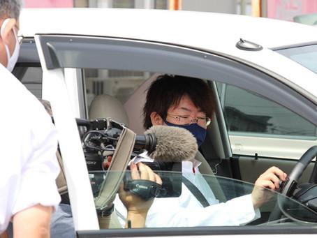NHKの取材を受けました!