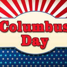 No Meeting     Columbus Day