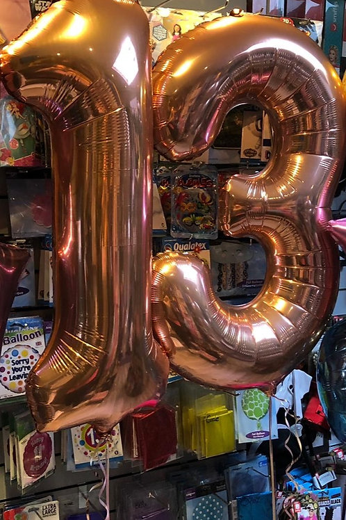 Extra Large Double-Digit Balloons