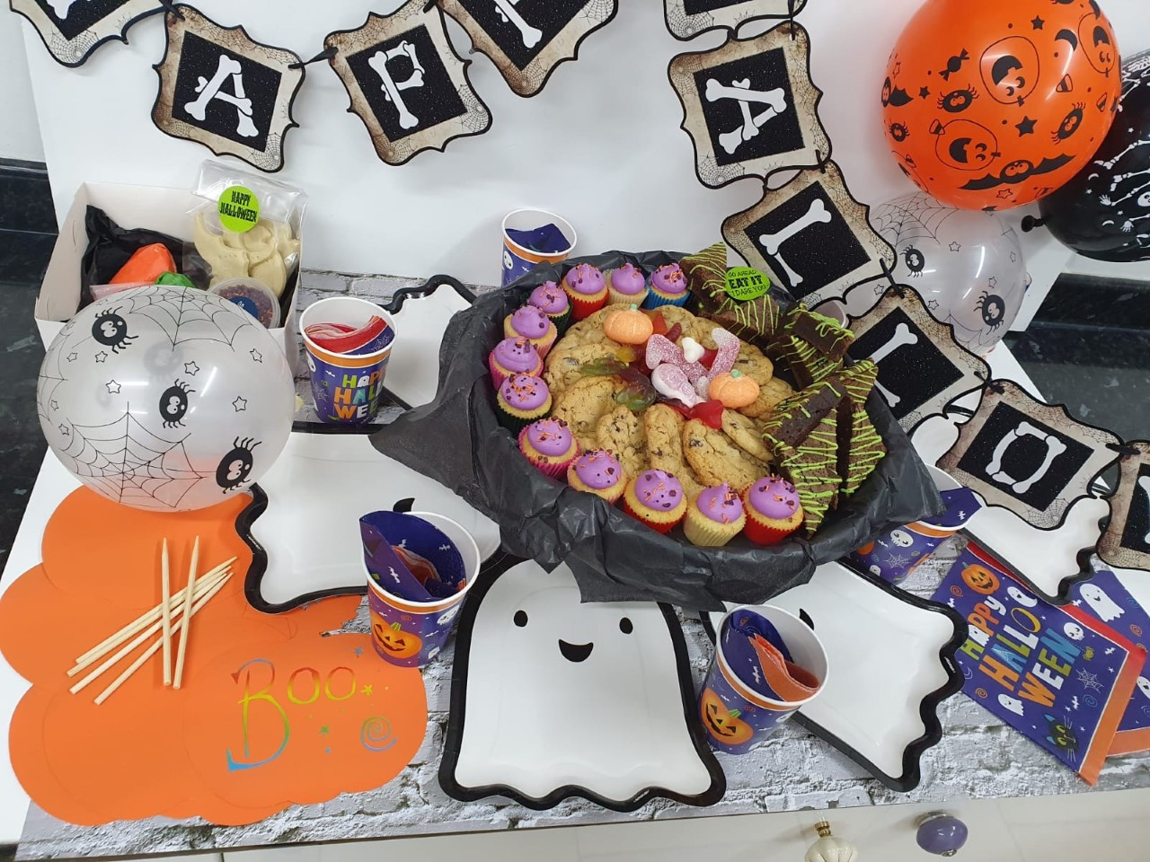 Halloween at Home Tea Party