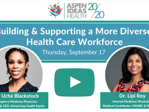 Building & Supporting a More Diverse Health Care Workforce
