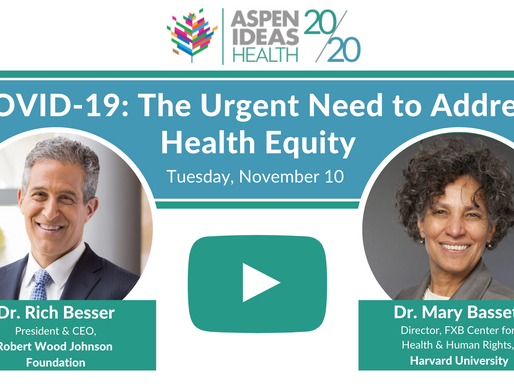COVID-19: The Urgent Need to Address Health Equity