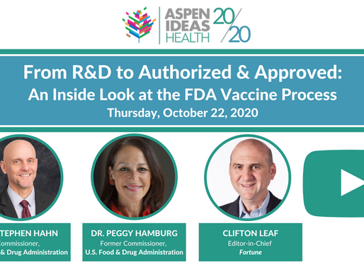 From R&D to Authorized & Approved: An Inside Look at the FDA Vaccine Process