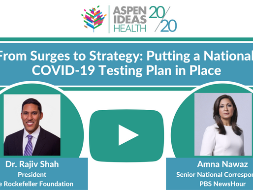 From Surges to Strategy: Putting a National Testing Plan in Place