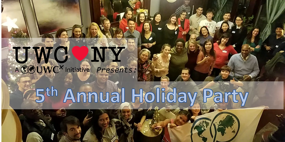 UWC NYC 5th Annual Holiday Party