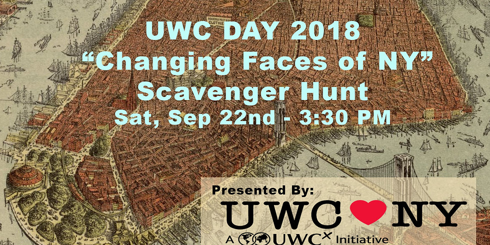 UWC Day: Changing Faces of NYC Scavenger Hunt