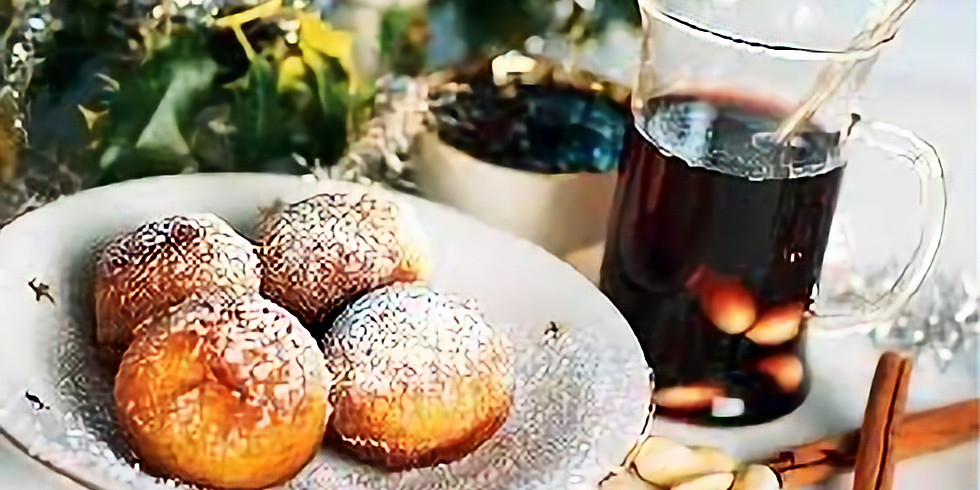 Mulled Wine and DIY Donut Party