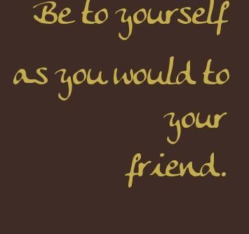 I am my friend.
