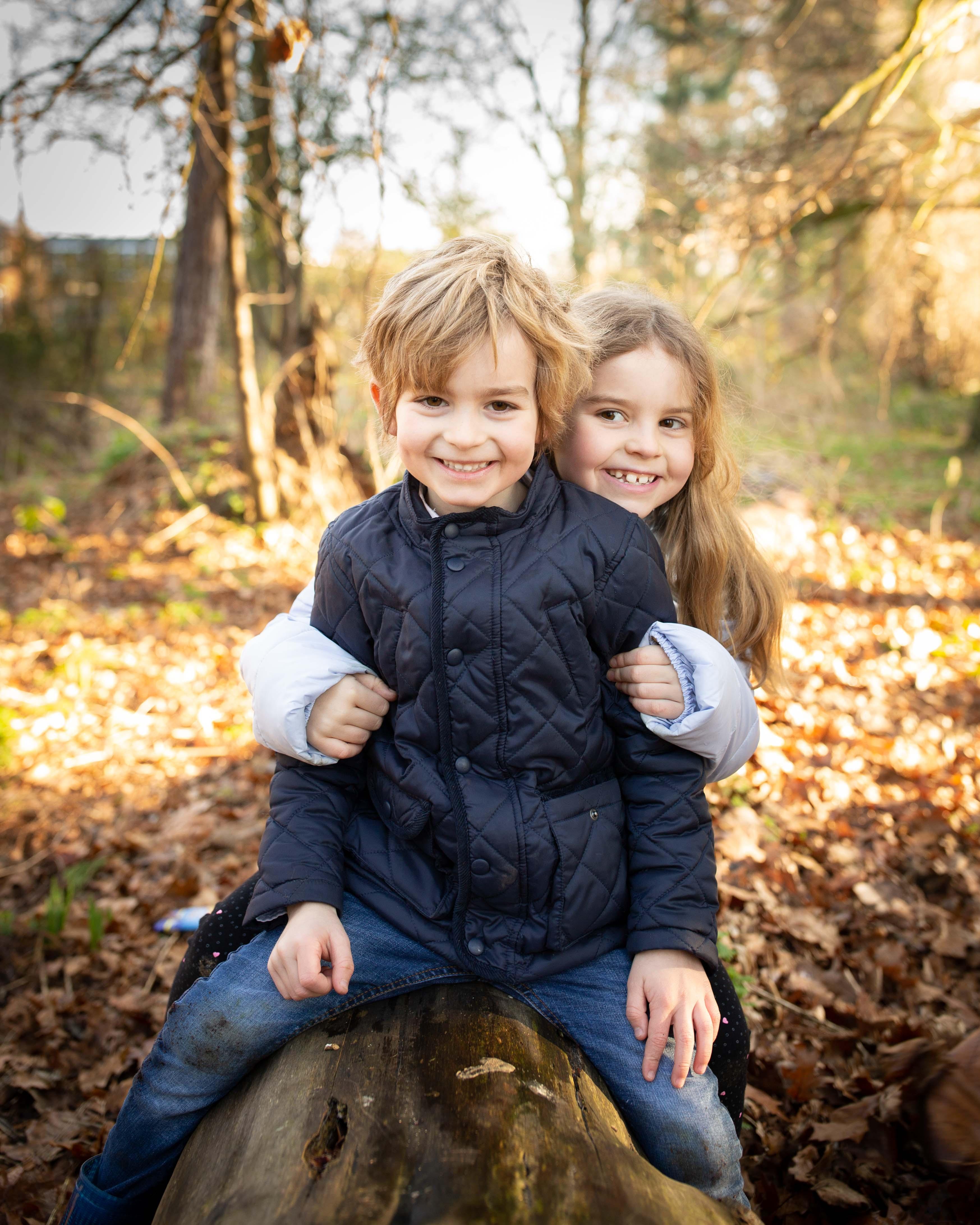 Autumn Family Photo Bedfordshire