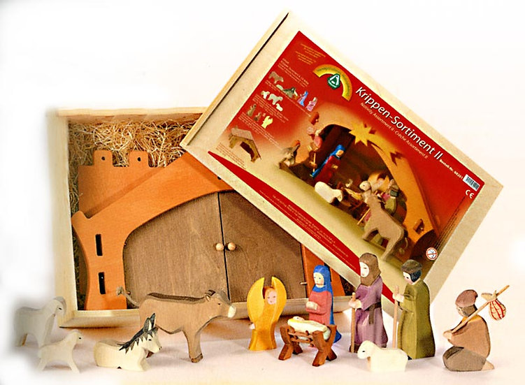 Nativity Assortment II-13pcs-60201