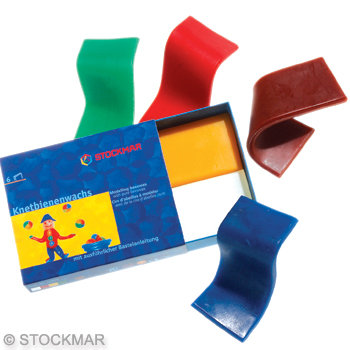 Stockmar Modelling Beeswax -6pcs.-85051000